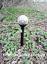 CAB118 RGB газонный садовый пластиковый светильник на солнечной батарее, фото 2
