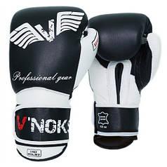 Боксерські рукавички V'Noks Aria White 10 ун.