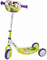 Детский самокат трехколесный «История игрушек» Smoby 750172 складной для детей