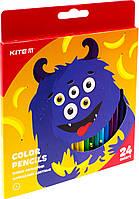 """Олівці кольор. 24 кольор. """"Kite"""" №K19-055-5 Jolliers"""