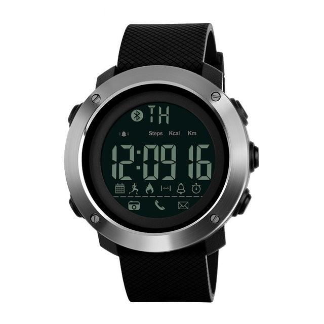 Skmei 1285 small черные мужские спортивные смарт часы