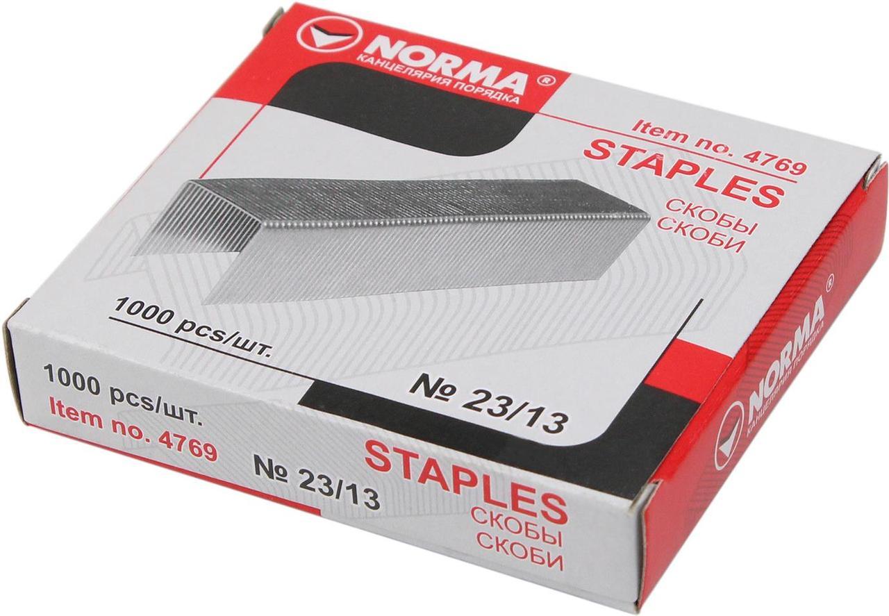 "Скобі ""Norma"" №23/13 (1000шт) №4769 (10)"