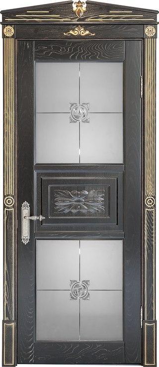 Двери межкомнатные деревянные, с массива ясеня, дуба, ольхи. Мод. 1228