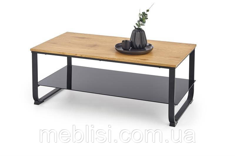 Журнальний стіл ARTIGA золотий дуб (105х55х45) Halmar