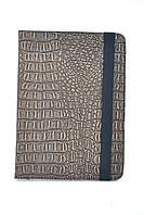 """Чехол для планшета 10/1"""" maXXus"""" на резинке №56 (крокодил коричнево-черный)"""