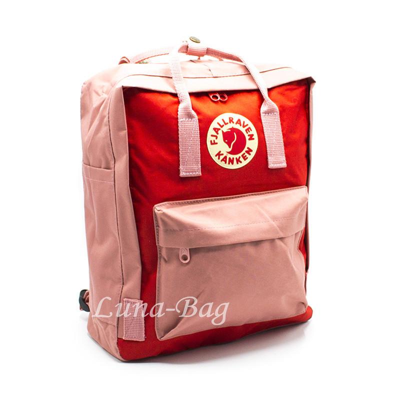 """Рюкзак """"KANKEN"""" 5 Цвета Розовый-Оранжевый."""