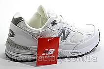 Белые женские кроссовки в стиле New Balance 991, White, фото 3