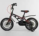 Дитячий 2-х колісний двоколісний велосипед 14 дюймів MG-14 S 325, магнієва рама, подвійні диски, ровер, фото 3