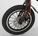 Дитячий 2-х колісний двоколісний велосипед 14 дюймів MG-14 S 325, магнієва рама, подвійні диски, ровер, фото 4
