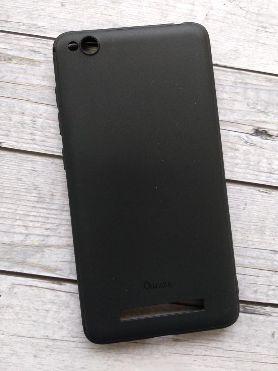 "Чехол Xiaomi Mi 6x/A2 Silicone ""Ou Case"" Super Slim Lovely black"