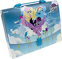 "Папка-портфель ""Kite"" №LP19-209 A4 пласт. Litlle Pony(10)"