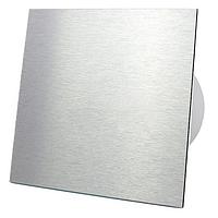 Витяжний вентилятор AirRoxy dRim 100 S BB Brushed Aluminum панеллю алюміній алюминий метал