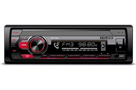 Автомагнитола Cyclone MP-1082R (1DIN, Micro SD, Bluetooth, FM, USB,12 мес гарантия)