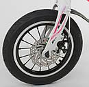 Детский 2-х колёсный двухколёсный велосипед 14 дюймов MG-14 S 706, магниевая рама, двойные диски, ровер, фото 5