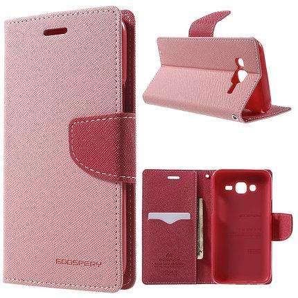 Чехол-книжка Flip Cover for Samsung A3/A300 Goospery Pink