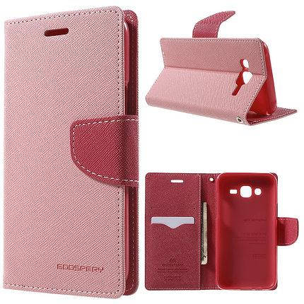 Чехол-книжка Flip Cover for Samsung A3/A300 Goospery Pink , фото 2