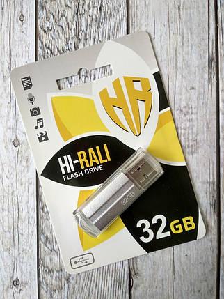 Флеш-накопитель USB 32Gb Hi-Rali Corsair series Silver, фото 2