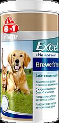 Витамины 8 in 1 Excel Brewers Yeast для собак, пивные дрожжи, 780 шт