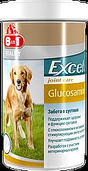 Витамины 8 in 1 Excel Glucosamine для собак с глюкозамином, 110 шт