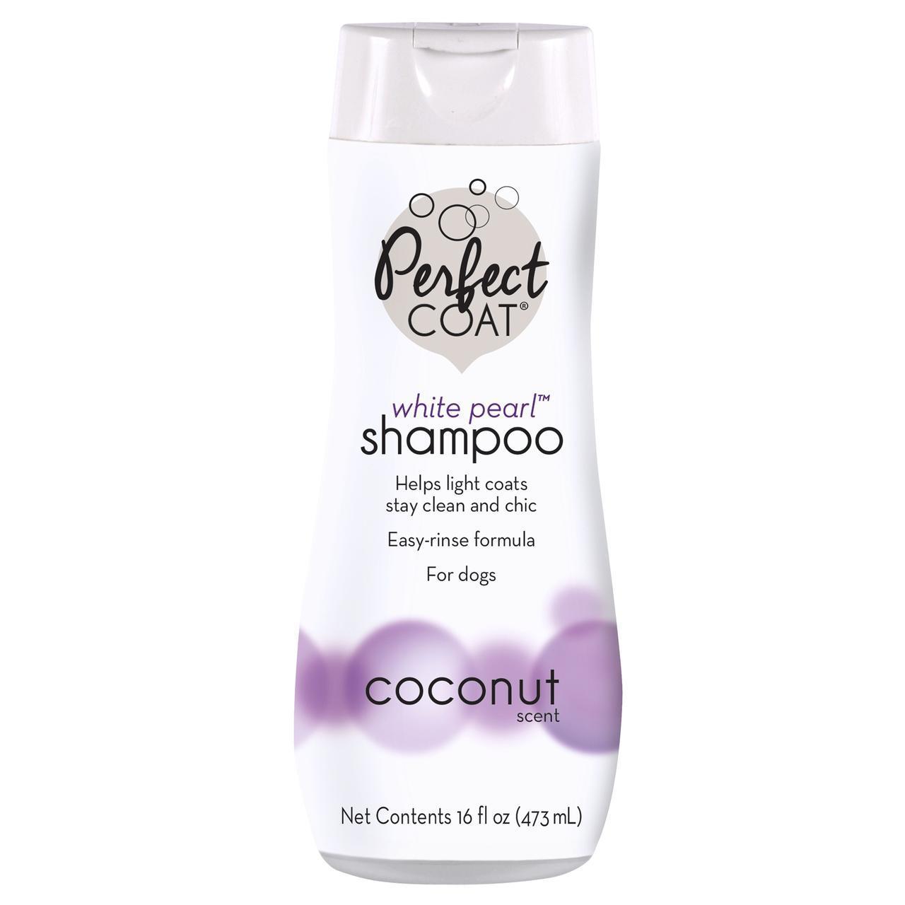 Шампунь-кондиционер 8 in 1 White Pearl Shampoo Conditioner для собак светлых окрасов, 473 мл