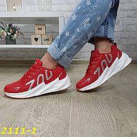 Кросівки на масивній підошві шарк SHARK червоні, фото 1