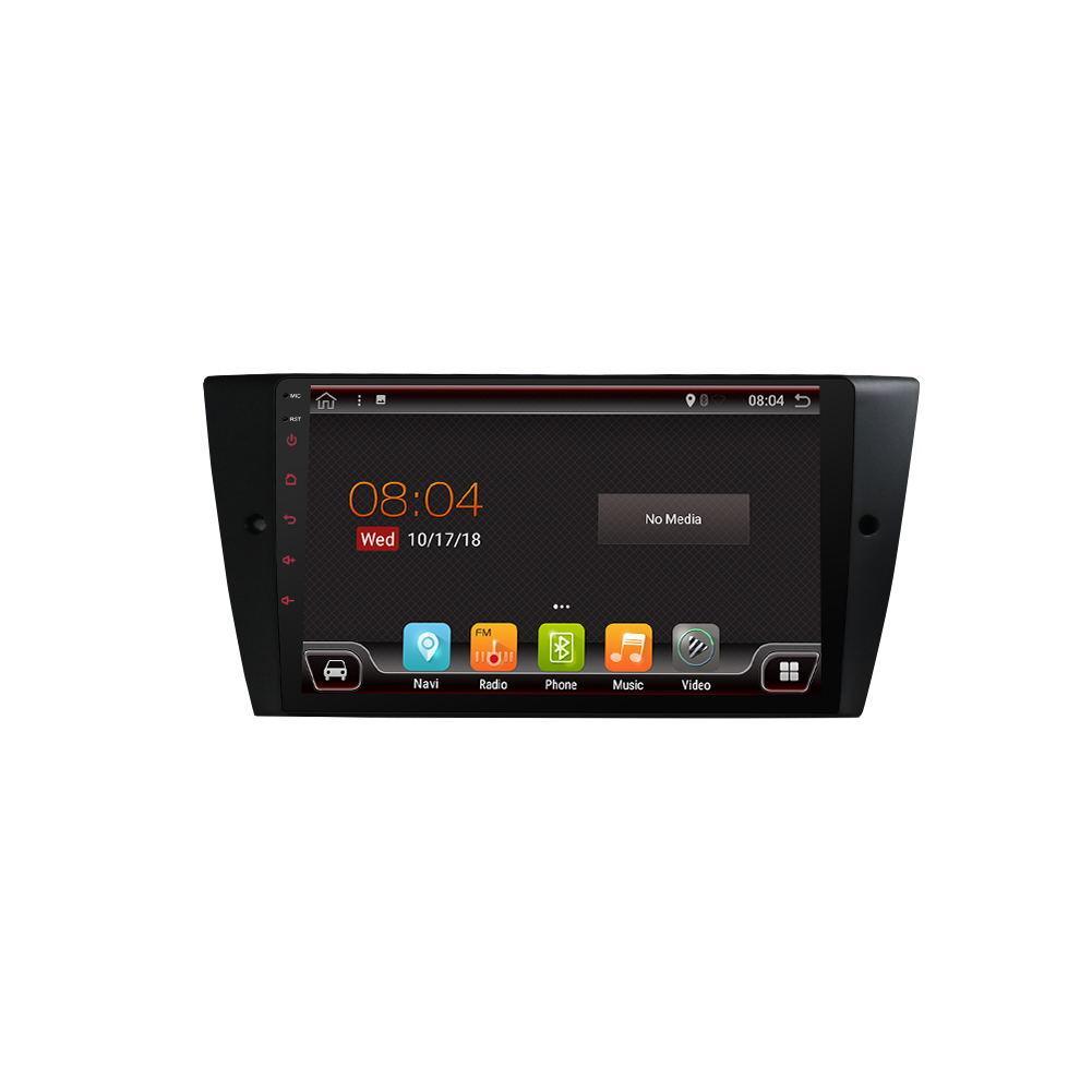 PX6 9-дюймовый 2DIN для Android 9,0 Авто MP5-плеер с сенсорным экраном GPS Bluetooth 6 core 4 + 64G Для BMW E90 E91 E92 E92 E93 05-12-1TopShop