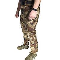 Тактические штаны Lesko B603 Pixel Desert 40 размер брюки мужские милитари камуфляжные с карманами, фото 2