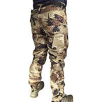 Тактические штаны Lesko B603 Pixel Desert 40 размер брюки мужские милитари камуфляжные с карманами, фото 3