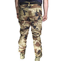 Тактические штаны Lesko B603 Pixel Desert 40 размер брюки мужские милитари камуфляжные с карманами, фото 4