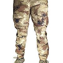 Тактические штаны Lesko B603 Pixel Desert 40 размер брюки мужские милитари камуфляжные с карманами, фото 5