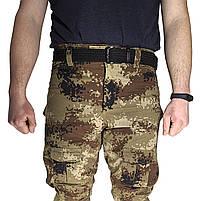 Тактические штаны Lesko B603 Pixel Desert 40 размер брюки мужские милитари камуфляжные с карманами, фото 6