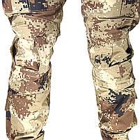 Тактические штаны Lesko B603 Pixel Desert 40 размер брюки мужские милитари камуфляжные с карманами, фото 7