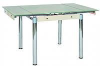 Стеклянный стол GD-082  цвет -крем
