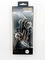 Bluetooth наушники Aspor A615 Magnet (Bluetooth 4.1, A2DP) white