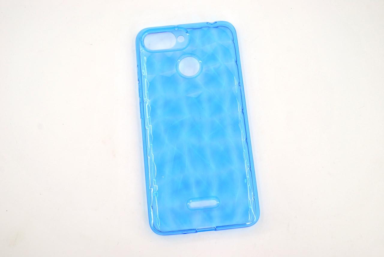 Чехол Samsung A20/A205 (2019)/А30 Silicone Prism Series голубой