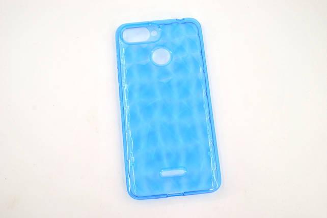 Чехол Samsung A20/A205 (2019)/А30 Silicone Prism Series голубой, фото 2