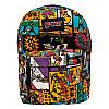 Спортивный рюкзак (Sport) с принтом (Comics) 7 Цветов Черный, фото 2