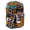 Спортивный рюкзак (Sport) с принтом (Comics) 7 Цветов Черный, фото 3