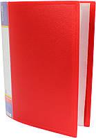 """Папка """"Economix"""" №E30606-03 A4 з 60ф. червона(6), фото 1"""