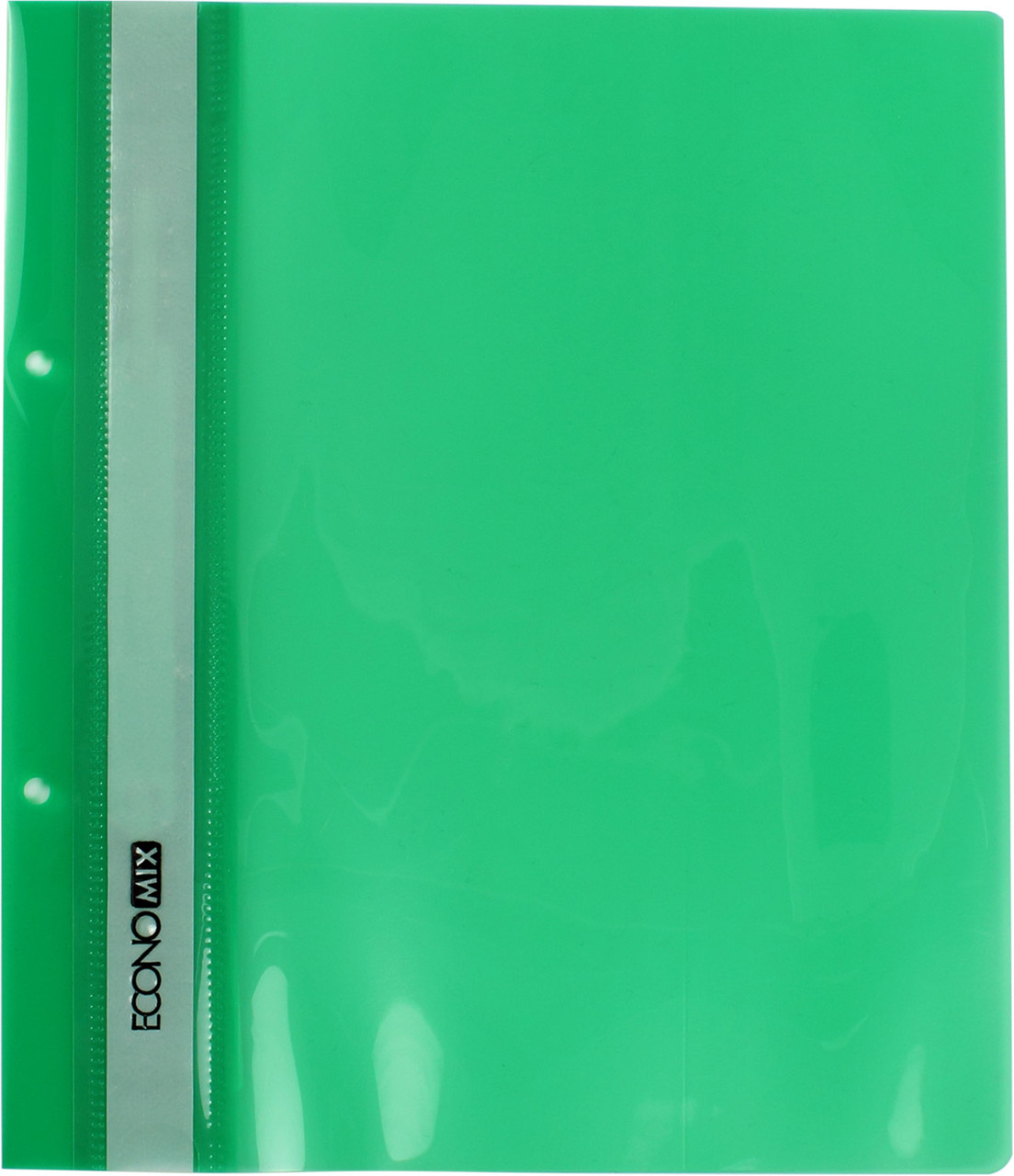 "Папка-швидкозш. ""Economix"" №E31506-04 A5 з прозор.верхом,з перфор. зелена(10)(400)"
