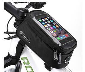 Велосумка для смартфона на раму Roswheel CA-5 размер M (+3,5мм удлинитель)