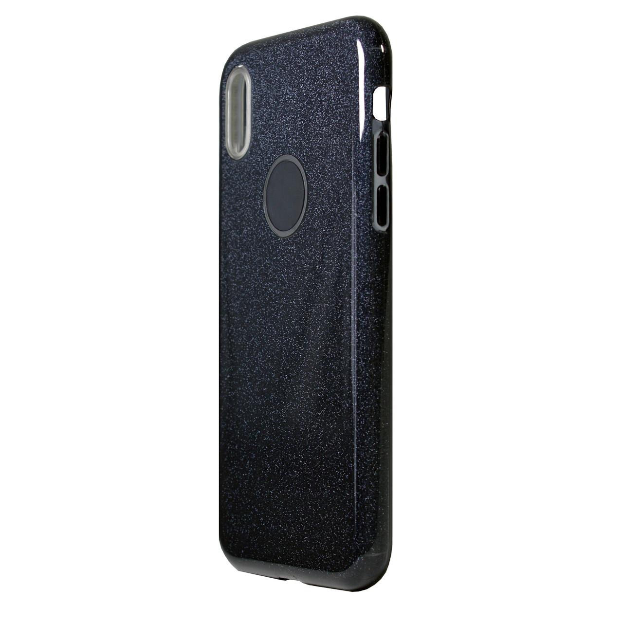 Чехол Huawei Y6 (2018) Silicone + Plastic Dream Black