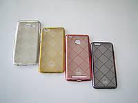 Чехол для Xiaomi Redmi 4 Silicone Baseus Rhombus pink