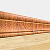 Мягкий самоклеющийся плинтус для 3Д панелей Золотой Дуб, пластиковые плинтусы настенные напольные ПВХ 240*8 см