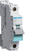 Автоматический выключатель 1п, D-16А, 10 kA, 1м Hager