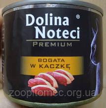 Консерва для кота Dolina Noteci cat мясные кусочки в соусе с уткой, 185 г