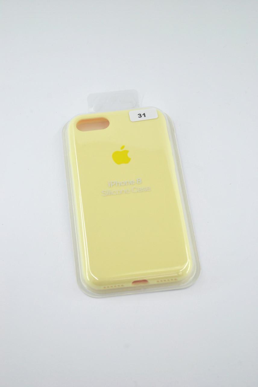 Чехол iPhone X/XS Silicone Case original FULL №31 melon