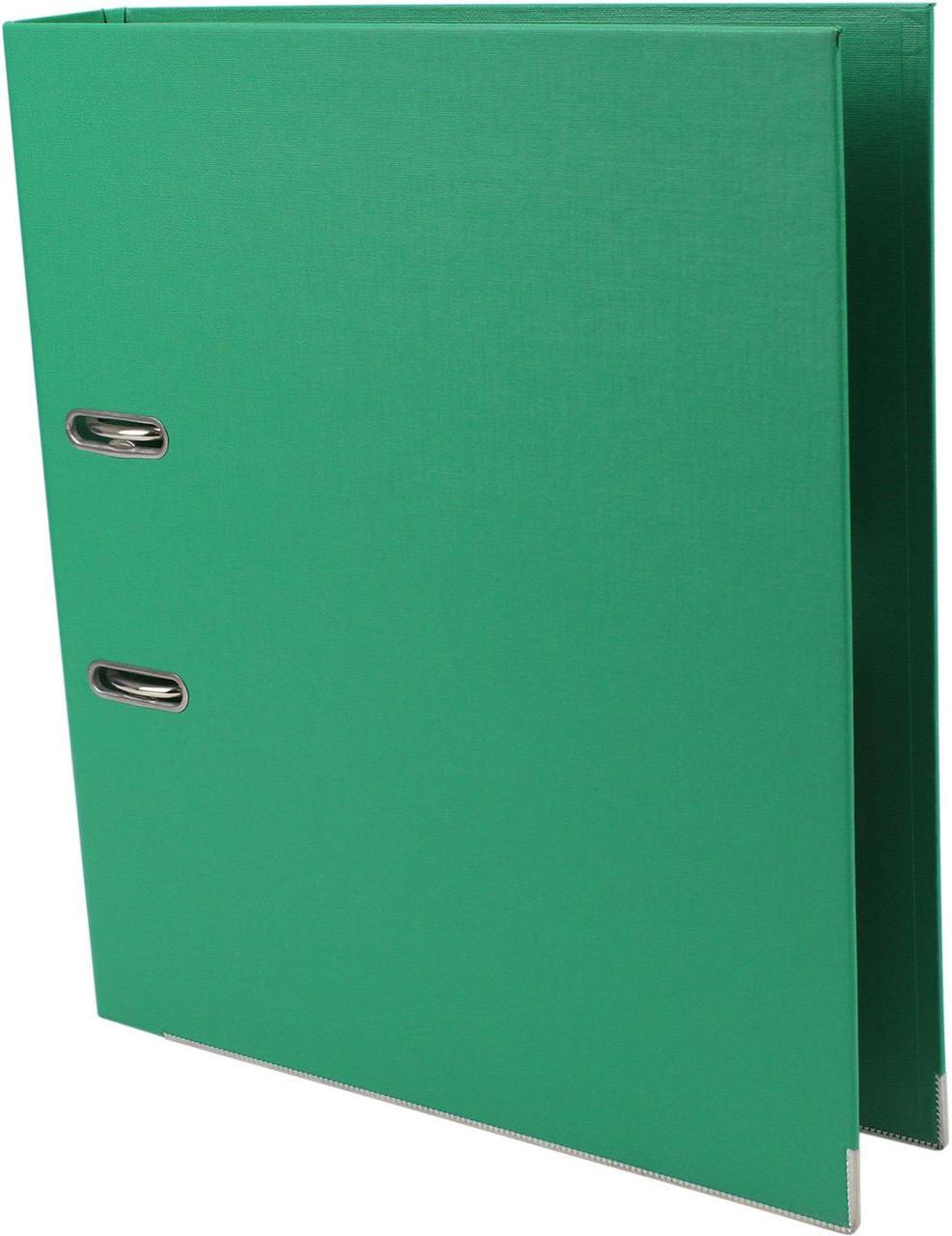 """Папка-реєстратор A4 """"Norma"""" 5см №5070 Lux PP (зелена)"""