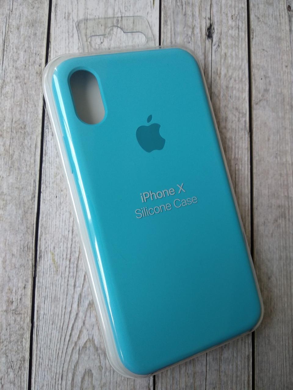 Чехол iPhone 5 /5s/SE Silicone Case original №16 royal blue