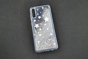 Чехол для телефона Samsung A40/A405 (2019) Silicone Water Shine №5 Серебристые звёзды